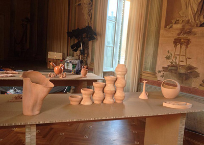vasi terracotta argilla 2014 giorgina castiglioni