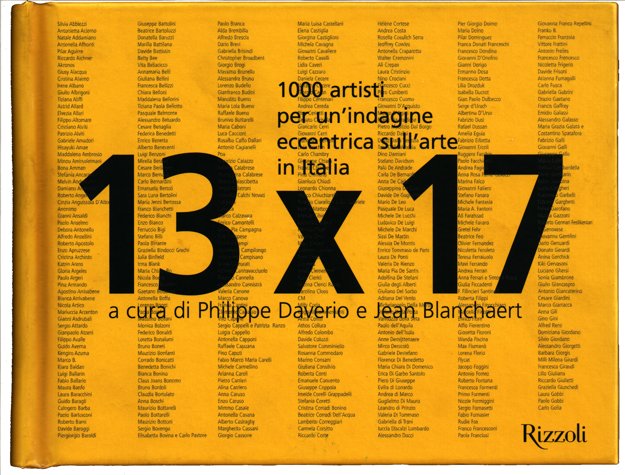 13x17 front cover philippe daverio jean blanchaert