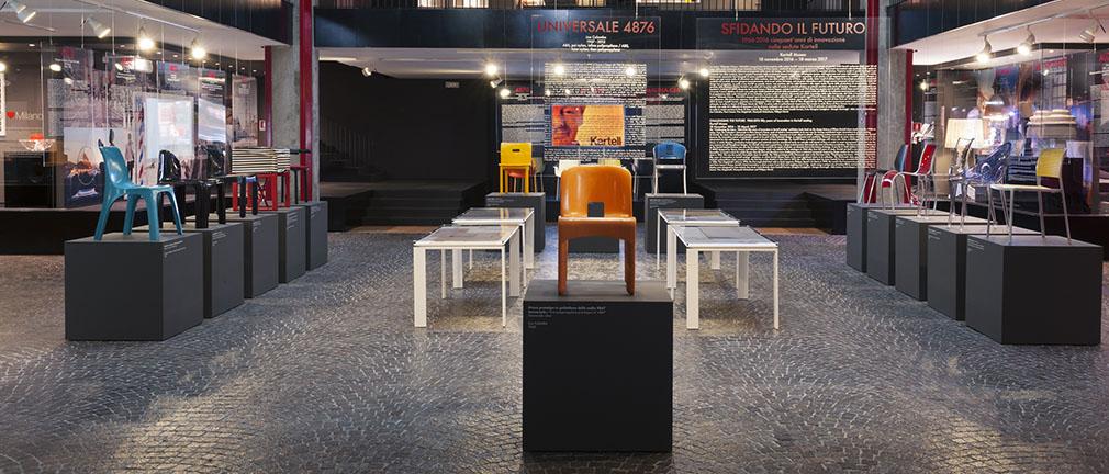 sedia 4850 museo kartell binasco