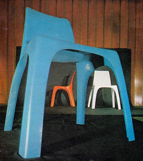 sedia 4850 tre sedie castiglioni giorgina
