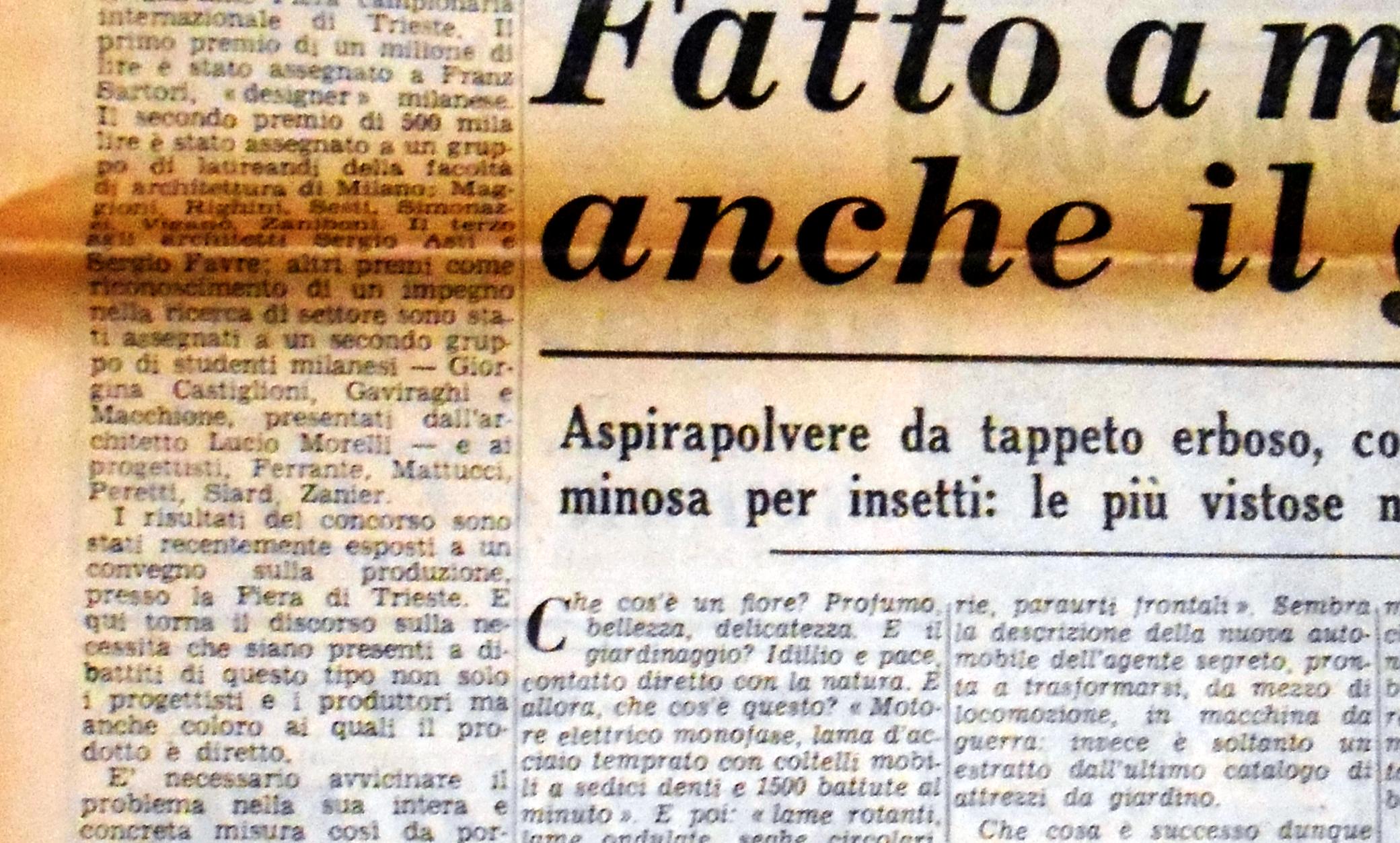 Dettaglio Corriere