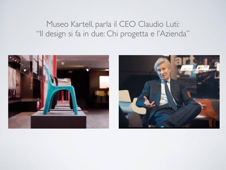 Claudio Luti Kartell citazione