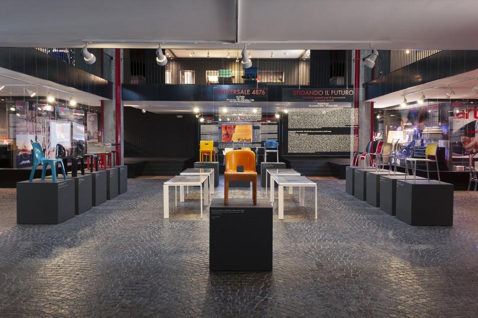 1 Giorgina Castiglioni Kartell museum stool 4850